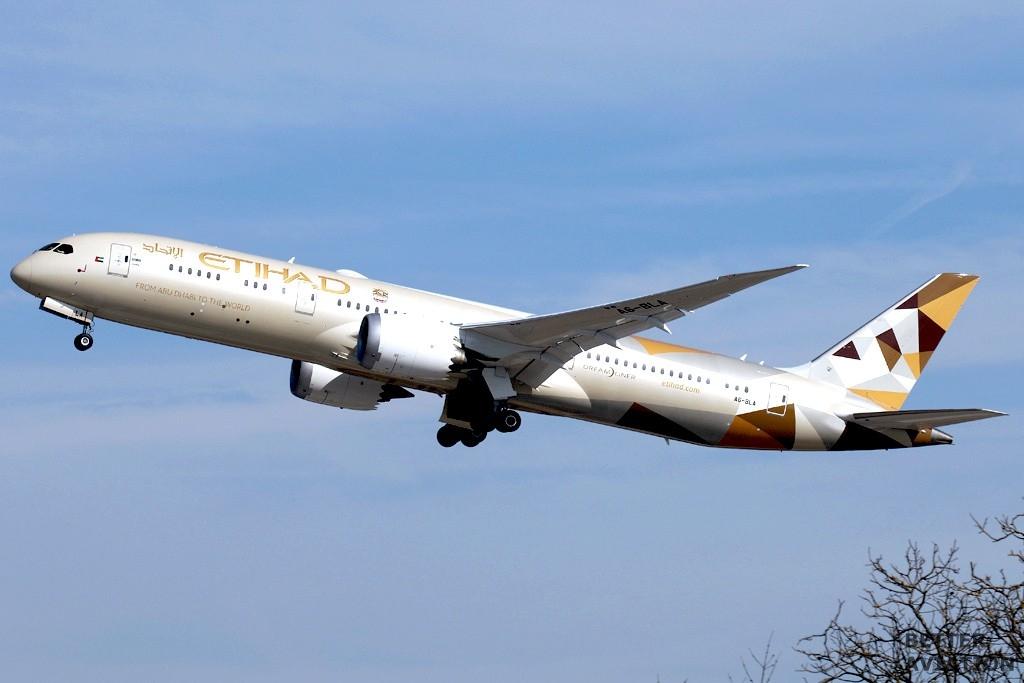 Etihad Airways Boeing 787-9