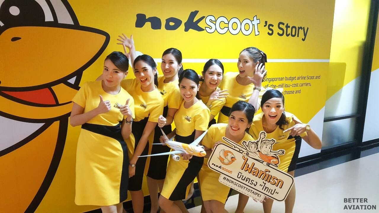 NokScoot Cabin Crew