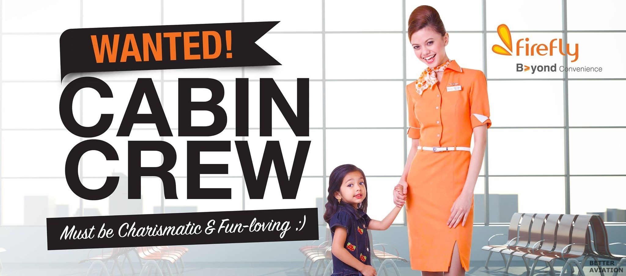 Firefly Cabin Crew Wanted