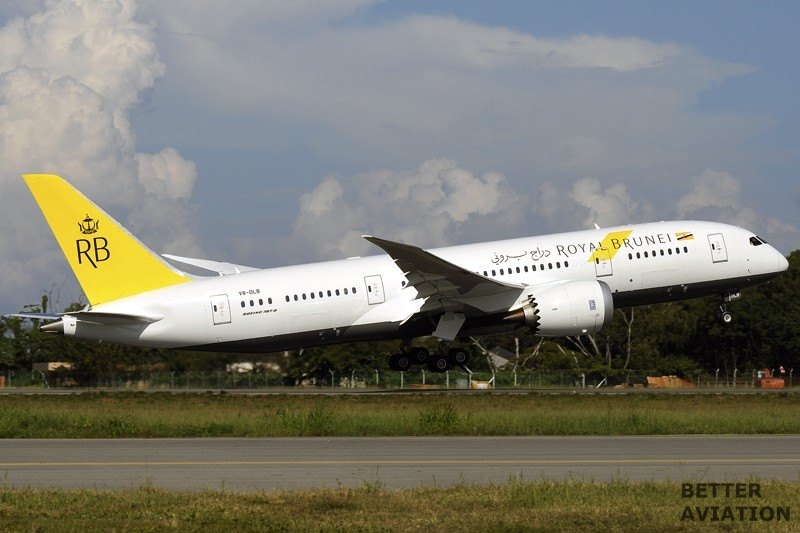 Royal Brunei Airlines B787