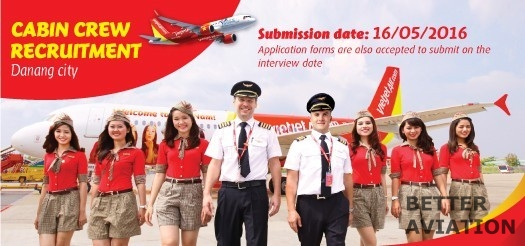 VietJet Air Cabin Crew May 2016