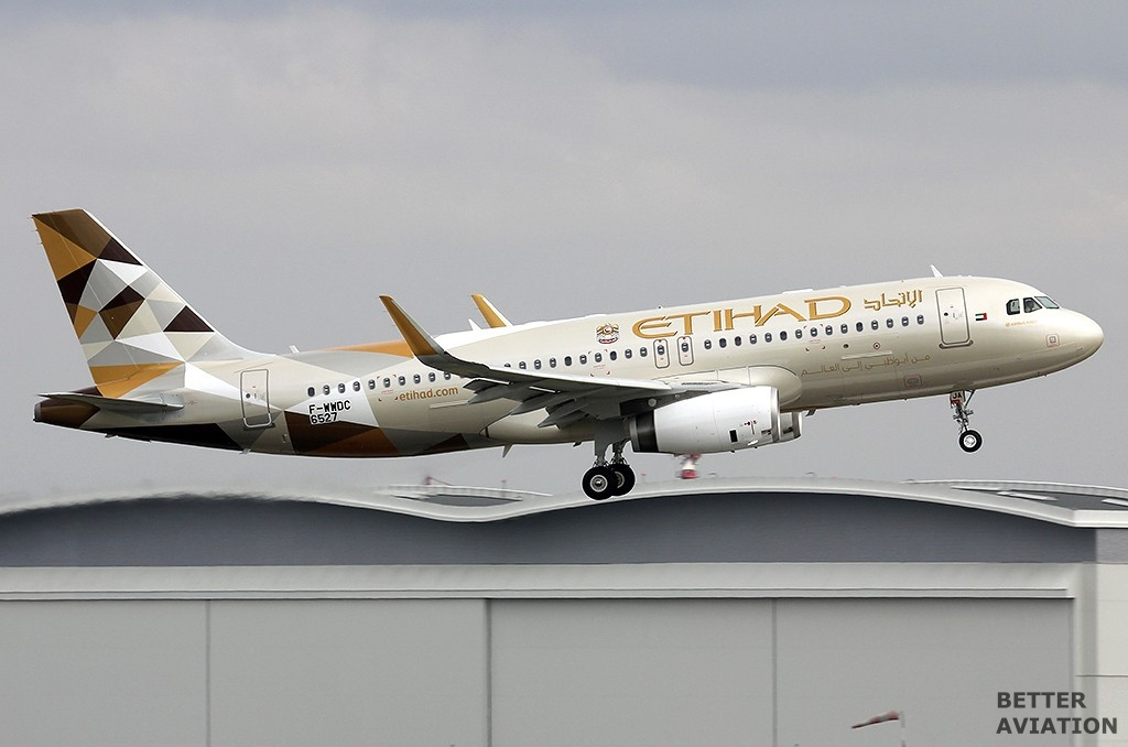 Etihad Airways Airbus A320