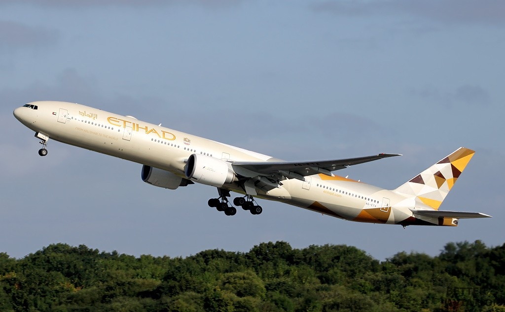 Etihad Airways Boeing B777-300ER