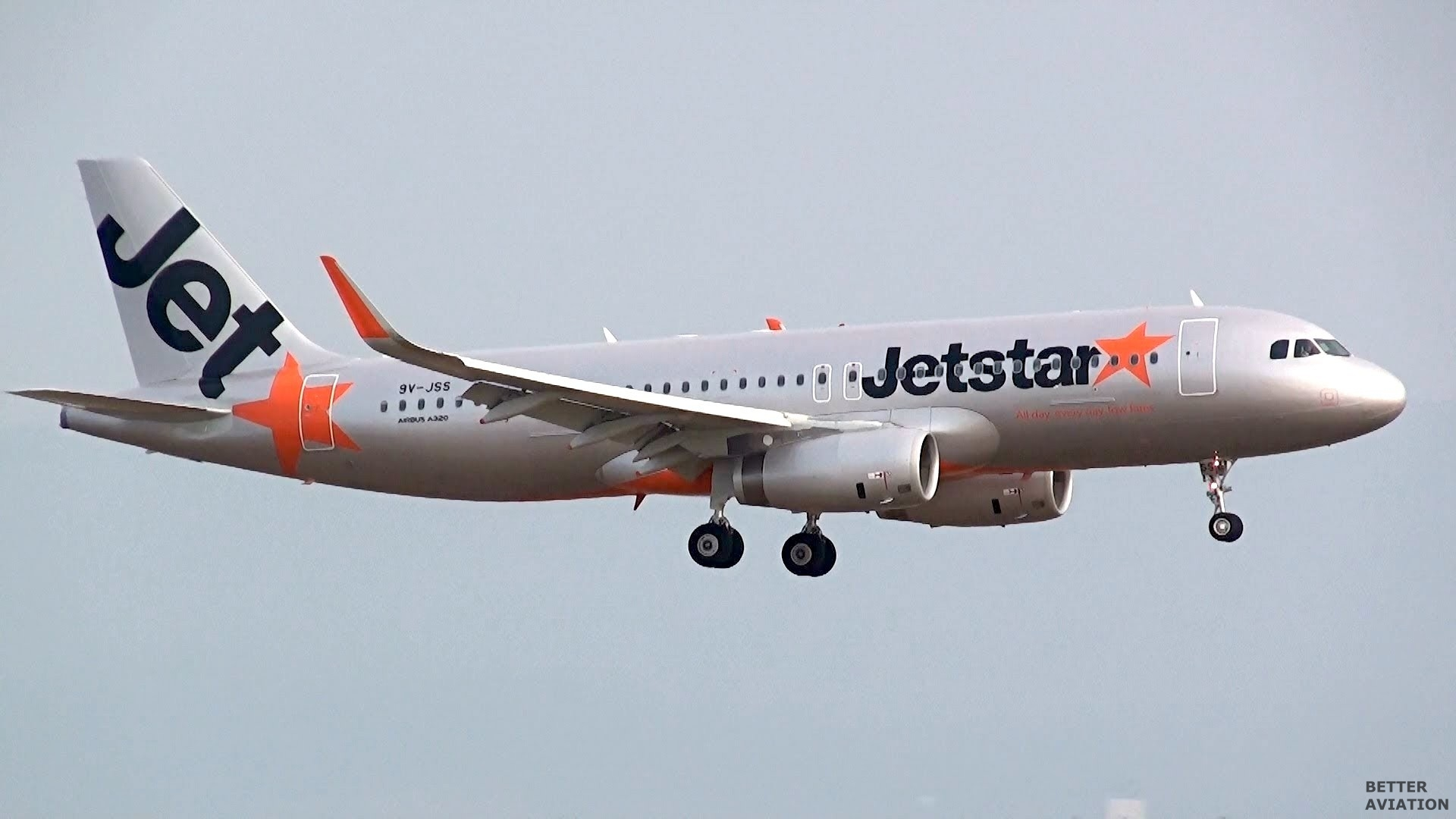 JetStar Asia Airbus A320