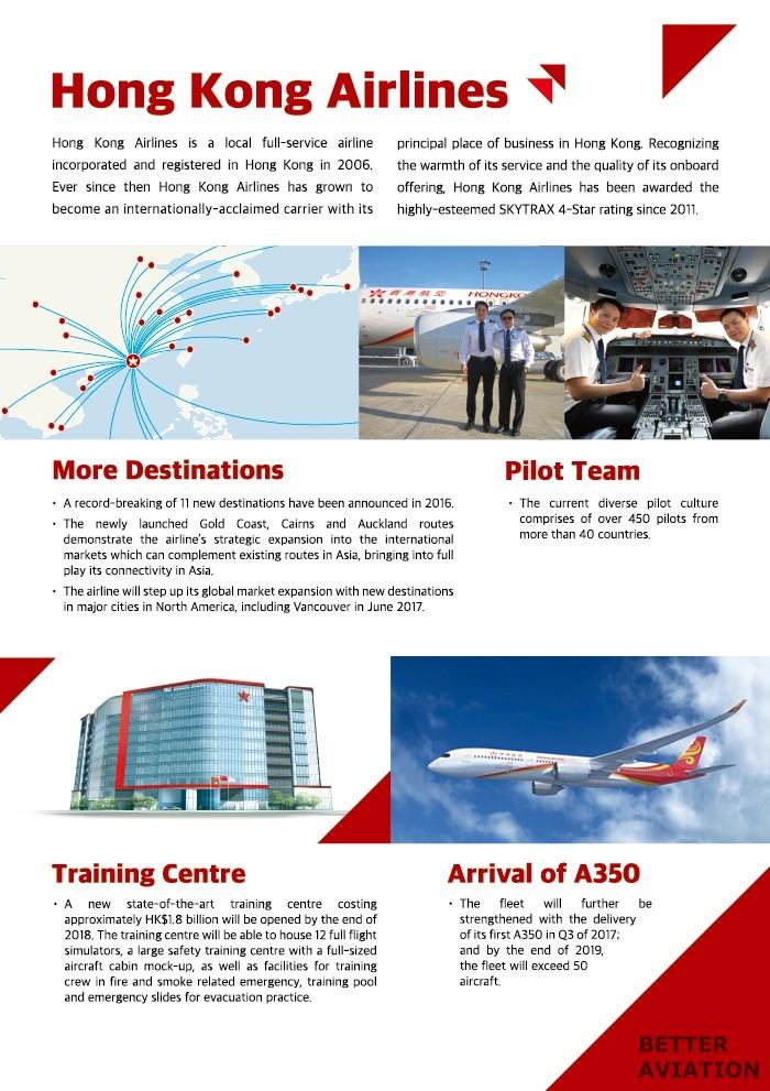 Hong Kong Airlines Cadet Pilot Programme (2017) - Better Aviation