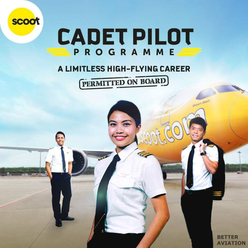 Scoot Cadet Pilot Programme - Better Aviation