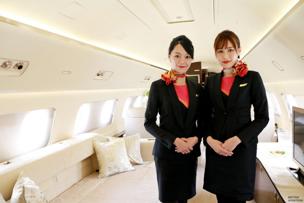 Hk Bellawings Jet Corporate Flight Attendants Better