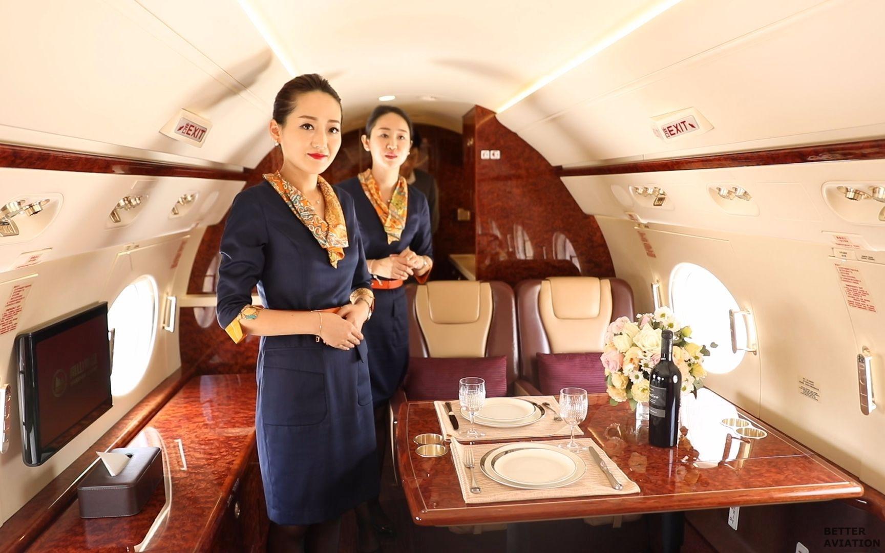Hong Kong Jet Vvip Flight Attendant Better Aviation