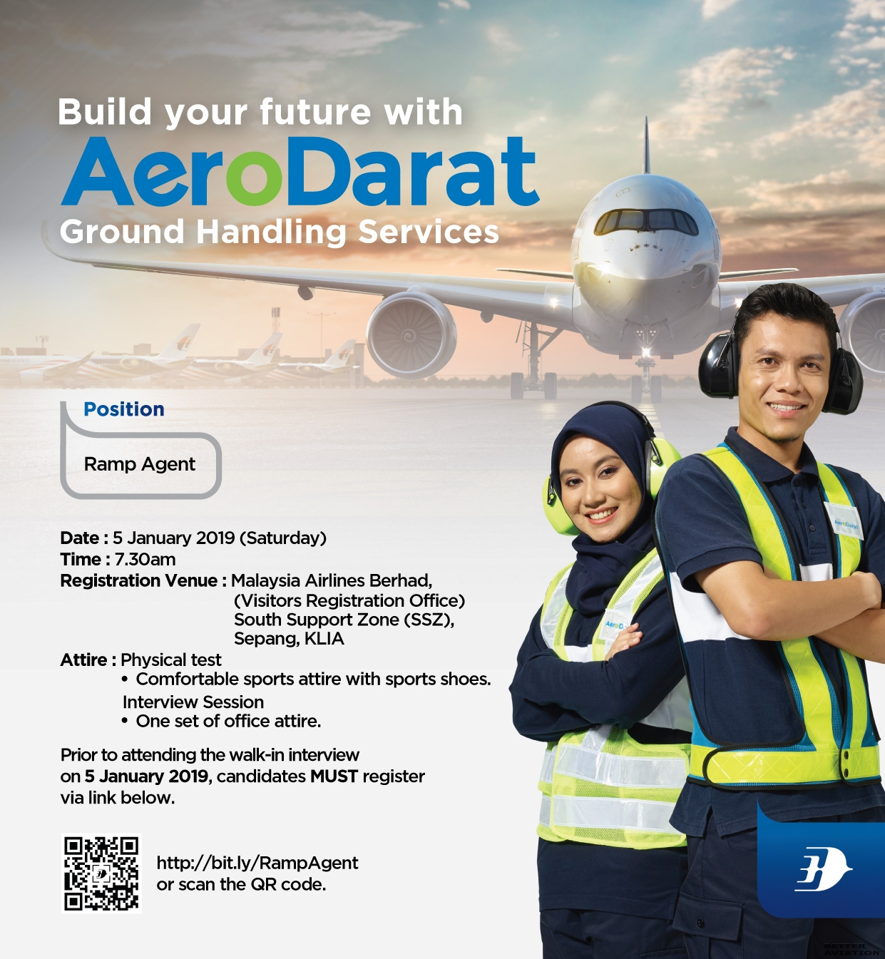 Malaysia Airlines Ramp Agent Walk In Interview Klia January 2019 Better Aviation