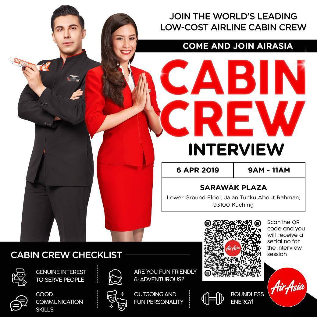 AirAsia Cabin Crew Walk-In Interview [Kuching] (April 2019) - Better