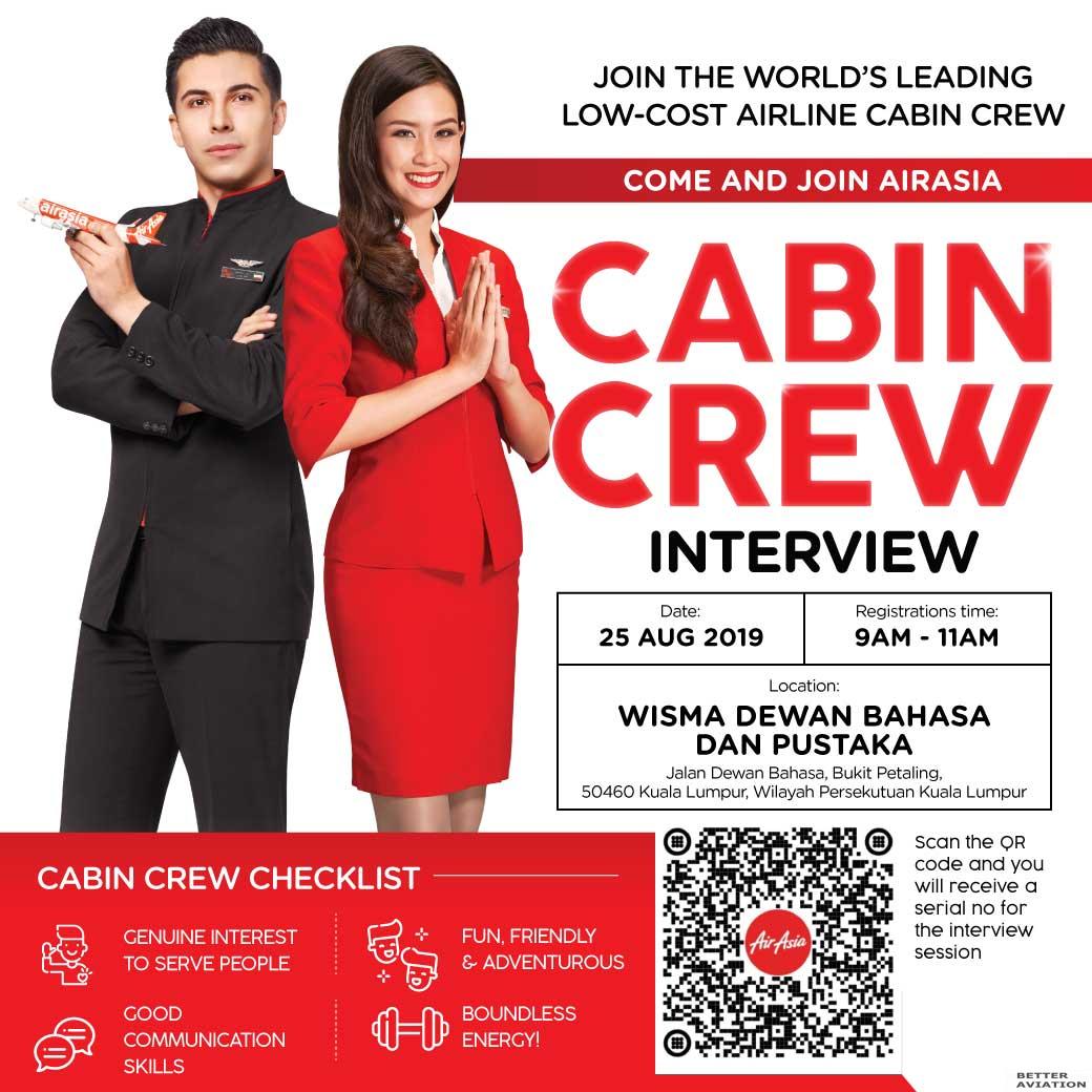 new york innovative design best price AirAsia Cabin Crew Walk-In Interview [Kuala Lumpur] (August ...